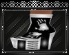 {A} Vampiro Silver Boots
