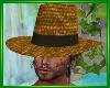 Farmer's Straw Hat+Hair