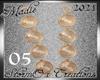 !a Mint Earrings 05 Gold