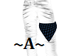Knee rag blue bandana