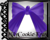 Mia Hair Bow Purple