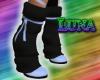 [L]KnitBluePastelBoots