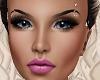 Blue Eyes Pierced Brows