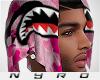 Shark Bandana   Pink