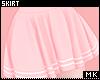 金. Pink Skirt
