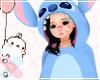 ♚ Kids Stitch Onesie