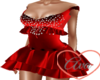 Party Dress Red Velvet