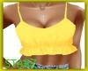 Yellow Ruffled Shirt