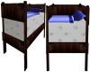 Brown Wood Toddler Bed