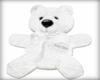 .LDs. White plush bear