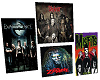 4pc Rock Poster Set