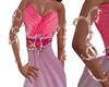 Pink Faery Armbands
