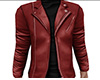 Red Leather Jacket (M)
