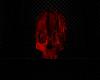 Red Flme Float Skull