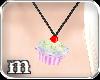 [m] CuppyCake Necklace