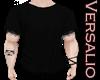 Black Ripped Tshirt