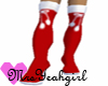 ~Y~Red X-Mas Boots