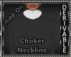 Fur Choker Neckline