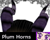Plum Fae/Demon Horns