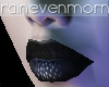 Cate Black Velvet Lips