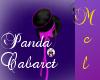 Panda Cabaret Hat