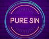 Pure Sin Support Banner