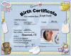 Birth Certificate JDA