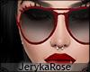 [JR]Pilot Sunglasses Red
