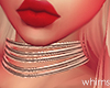 Baby Red Gold Choker
