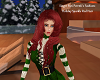 Holiday Sparkle Red Hair
