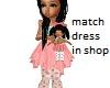 Kids Pink Green doll