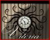 V! Wall Clock