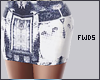 F. Printed Skirt RL