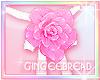 :G: Pink Rose Choker