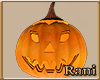 Animated Pumpkin Head M
