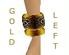 Wristband in gold