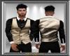 Gold Vest w Shirt