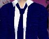 (V) bl tweed suit top F