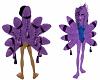 Oto's Purple cat 9 TAILS