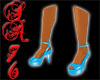{SA} Light Blue Shoes