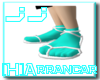 Hyou(Ice) Arrancar shoe