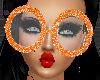 *Dork Orange Glasses