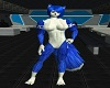 Wolf Chest Fur Blue V2