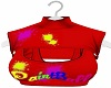 PaintBall Red CropTop