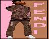 FENDI HOODY JACKET