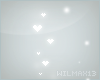 V~| Hearts sparkle