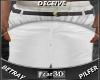 Denim Shorts white~ 3D