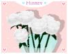 ♡ White rose
