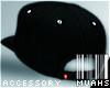 M! Tilted Snapback-Black