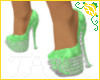 Green and Grey Shoes